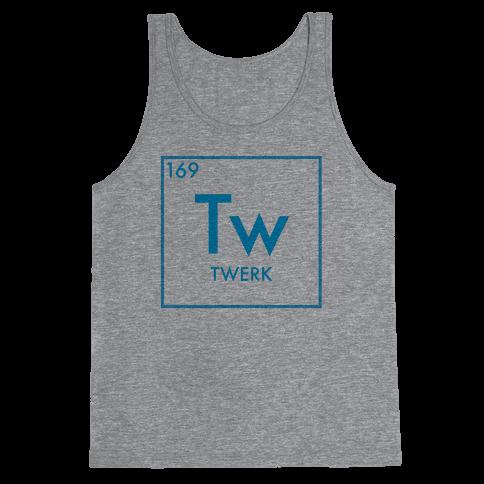 Twerk Science Tank Top