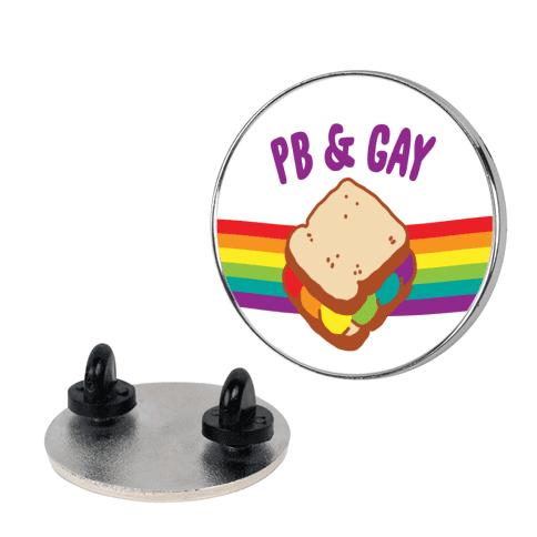 PB & GAY Pin
