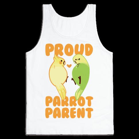 Proud Parrot Parent Tank Top