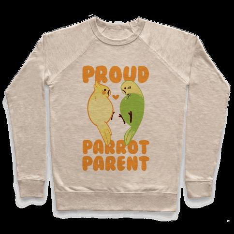 Proud Parrot Parent Pullover