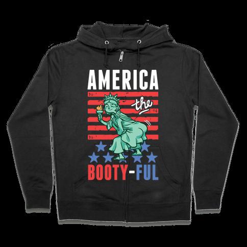 America The Bootyful Zip Hoodie