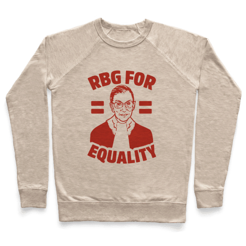 Rbg For Equality Pullover