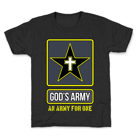 God's Army Kids T-Shirt