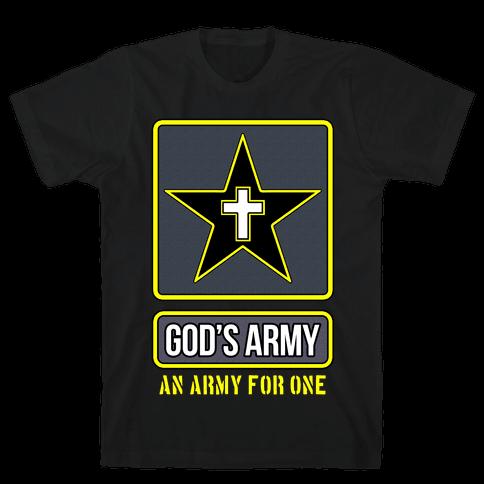 God's Army Mens T-Shirt