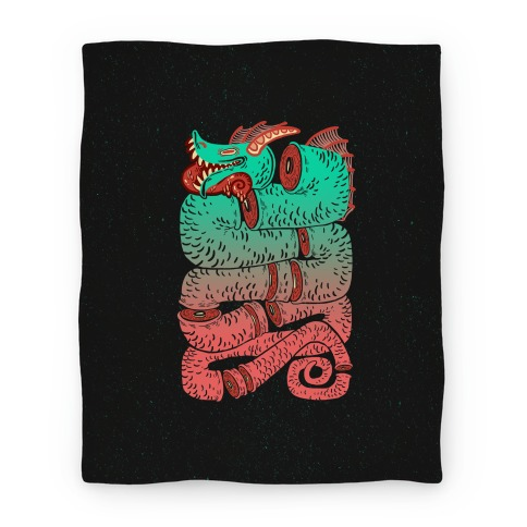 Sea Serpent Sections Blanket