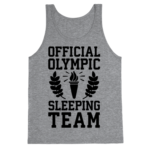 Official Olympic Sleeping Team Tank Top
