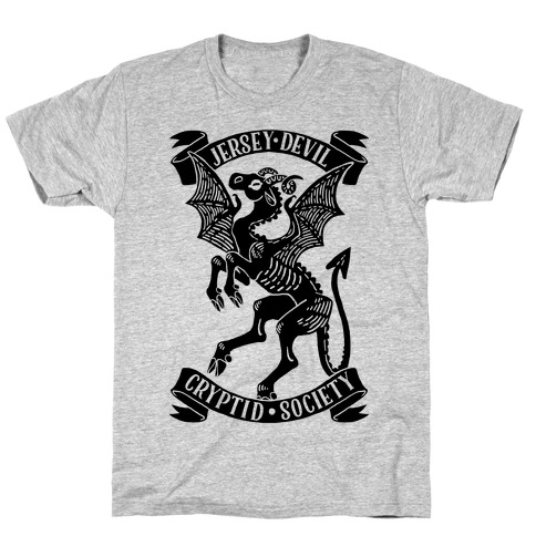 Jersey Devil Cryptid Society T-Shirt
