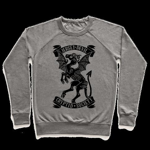 Jersey Devil Cryptid Society Pullover