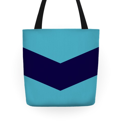 Navy Stripe Chevron Tote Tote