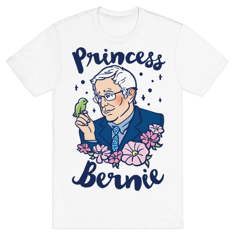 Princess Bernie Mens T-Shirt