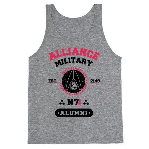 Alliance Military Alumni Tank Top