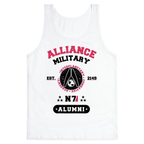 Alliance Military Alumni Tank Top