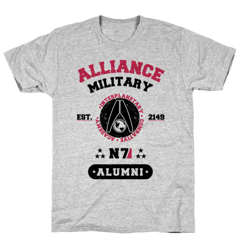 Alliance Military Alumni Mens T-Shirt