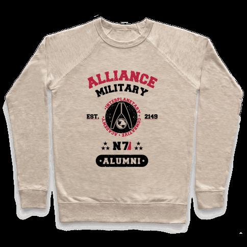 Alliance Military Alumni Pullover