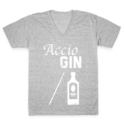 Accio GIN V-Neck Tee Shirt