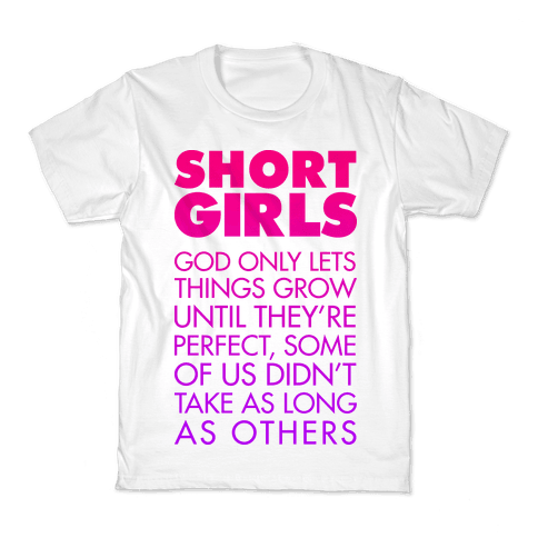 Short Girls (Tank) Kids T-Shirt