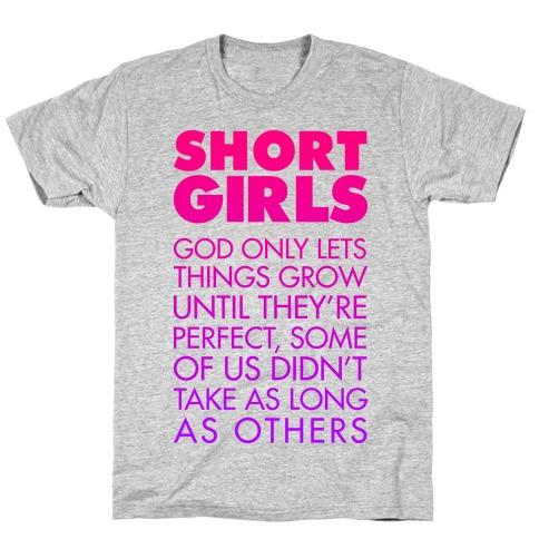 Short Girls (Tank) T-Shirt