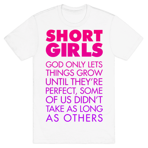 Short Girls (Tank) Mens T-Shirt
