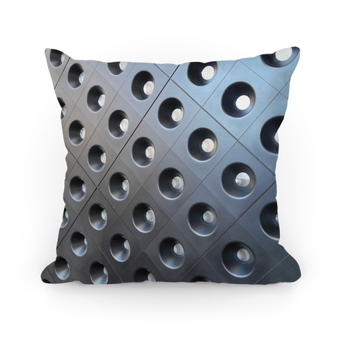 Faux Metal Texture Pillow