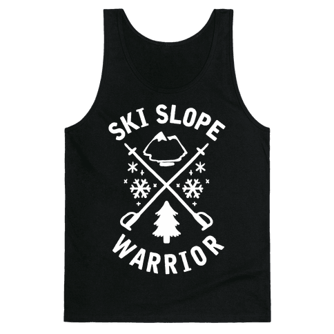 Ski Slope Warrior Tank Top