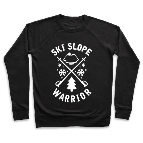Ski Slope Warrior Pullover