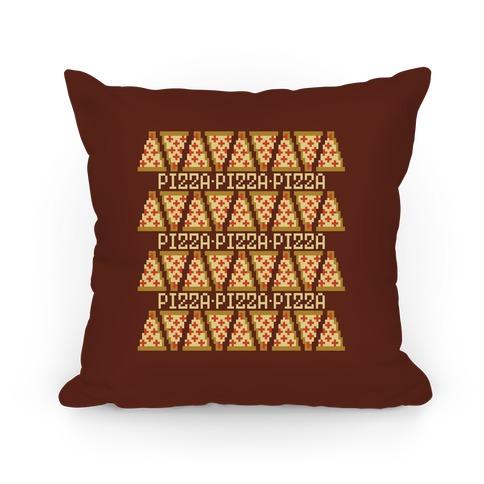 8 Bit Pizza Pillow