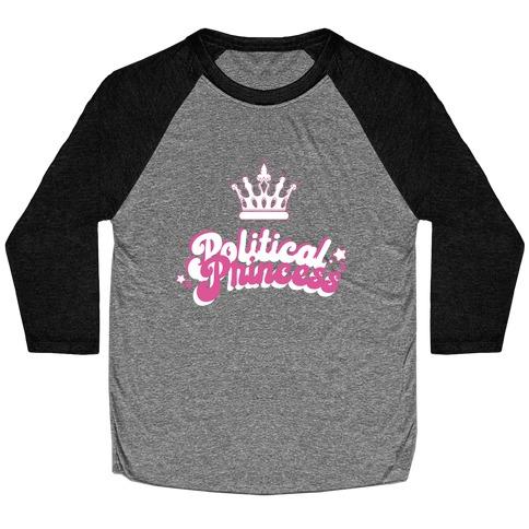 Political Princess Baseball Tee