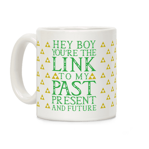 Link Pickup Line Coffee Mug