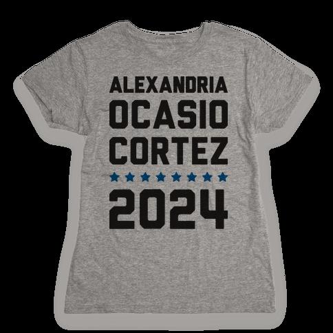 Alexandira Ocasio-Cortez 2024 Womens T-Shirt