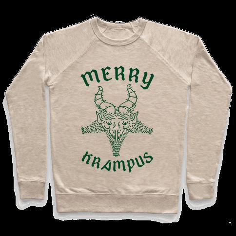 Merry Krampus Pullover