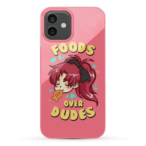 Foods Over Dudes Parody Phone Case