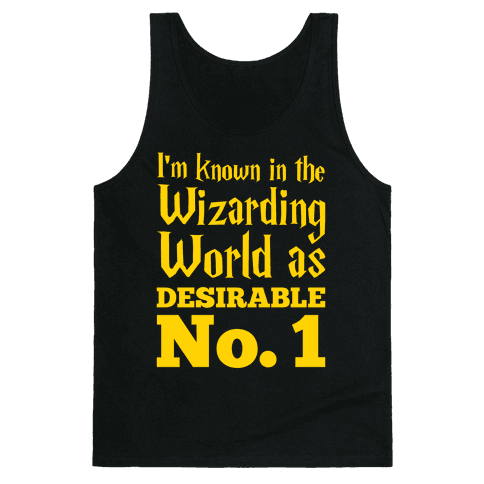 Desirable No. 1 Tank Top
