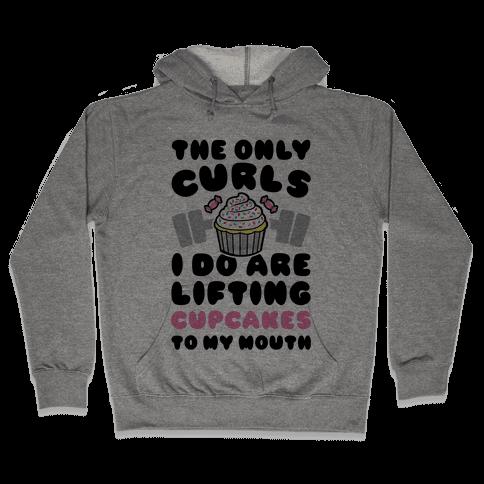 Cupcake Curls Hooded Sweatshirt