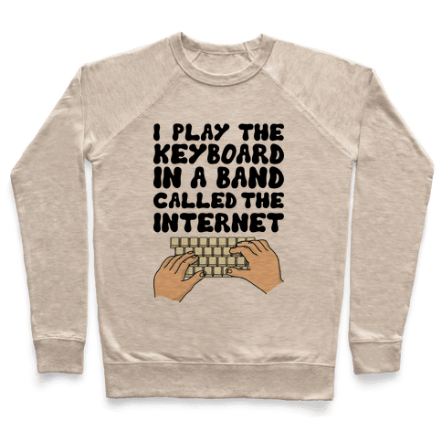 I Play The Keyboard Pullover