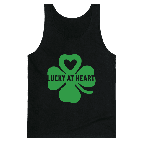Lucky at Heart Tank Top