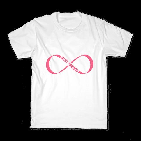 Best Friends Forever (Infinity) Kids T-Shirt