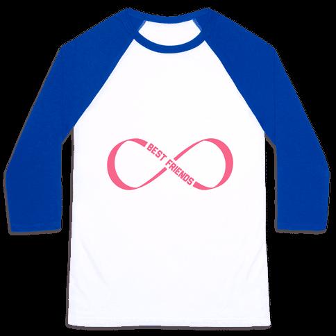 Best Friends Forever (Infinity) Baseball Tee