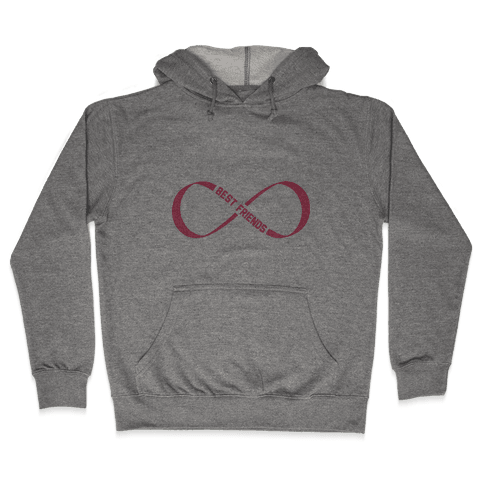 Best Friends Forever (Infinity) Hooded Sweatshirt
