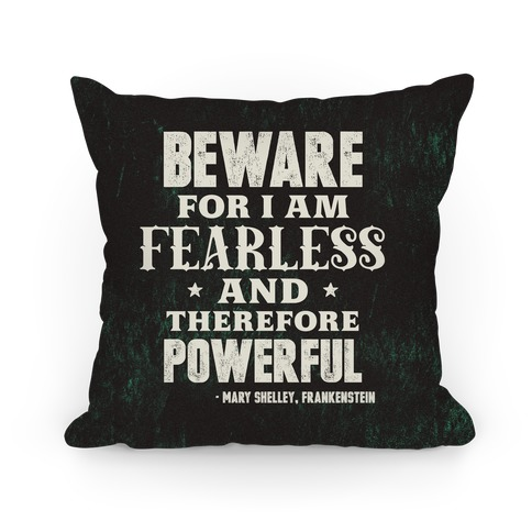 Fearless and Powerful Pillow