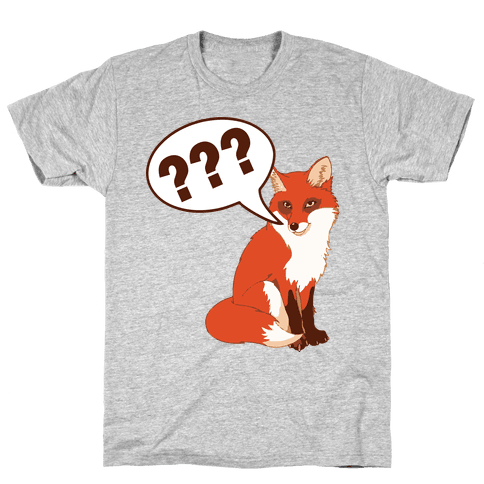 What Does The Fox Say Mens T-Shirt