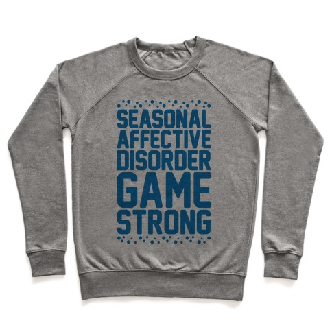 Seasonal Affective Disorder Game Strong Pullover