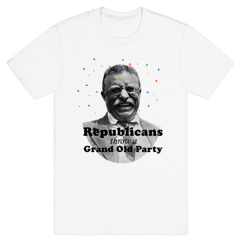 Grand Old Party Mens T-Shirt