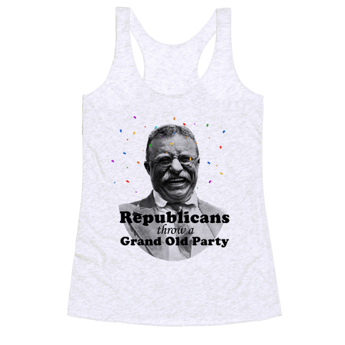 Grand Old Party Racerback Tank Top