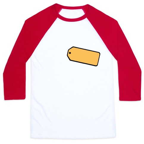 Price Is Right Name Tag Costume Baseball Tee