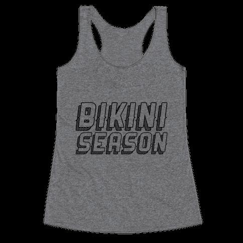 Bikini Season Racerback Tank Top