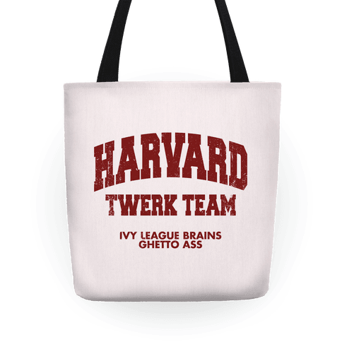 Harvard Twerk Team Tote