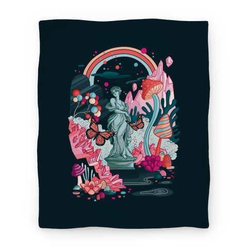 Sugar Witch's Labyrinth Blanket