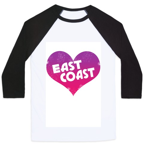East Coast Baseball Tee