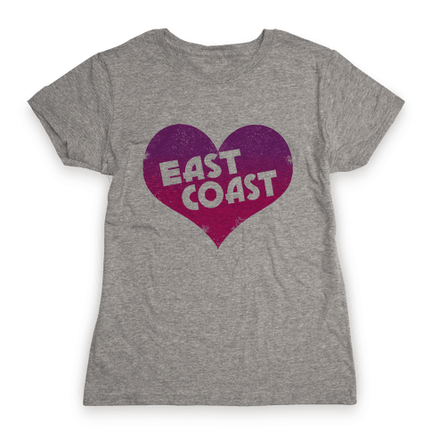 East Coast Womens T-Shirt