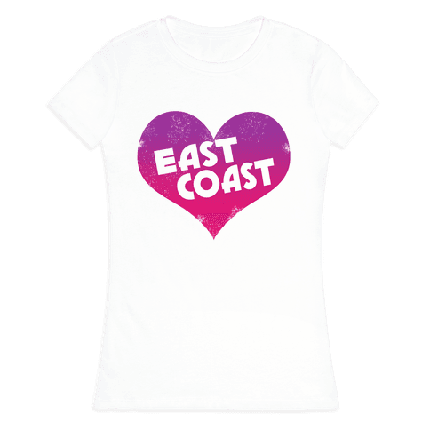 East Coast Womens T-Shirt